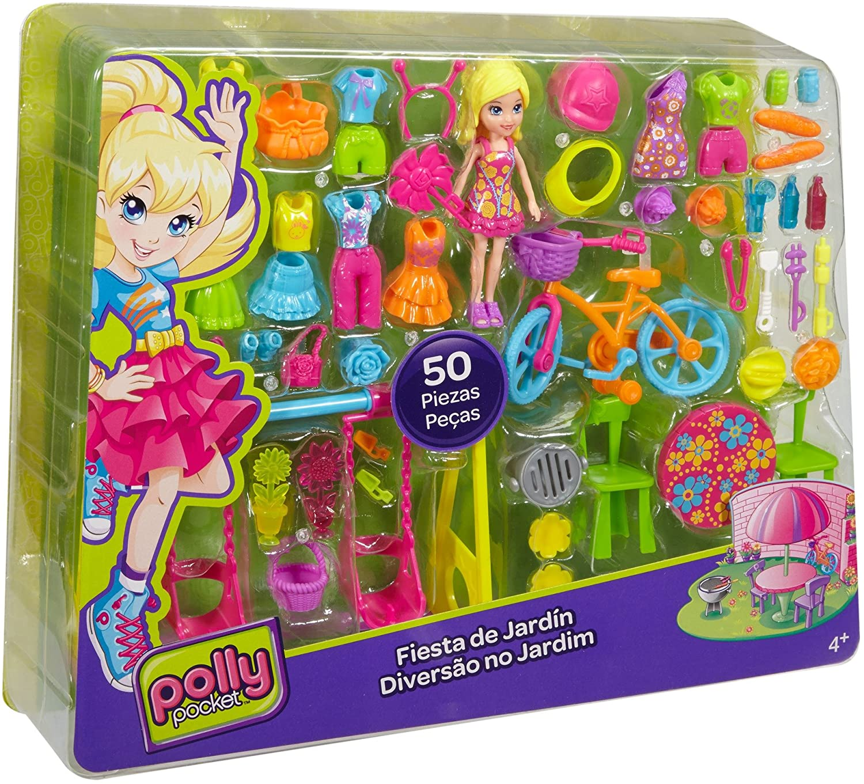 Polly Pocket Diversão no Jardim - MATTEL 50 Peças