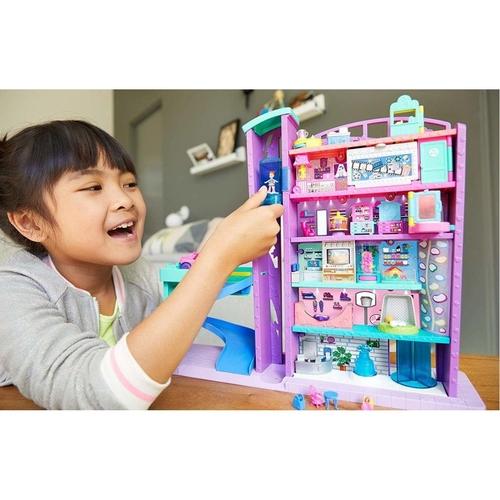 Polly Pocket Mega Centro Comercial Mattel GFP89 Acessórios
