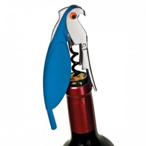 Saca Rolha Birds Multiuso Euro Azul