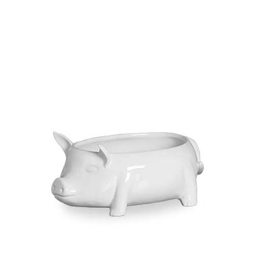 Sopeira Formato  Porco - Scalla Branca Porcelana