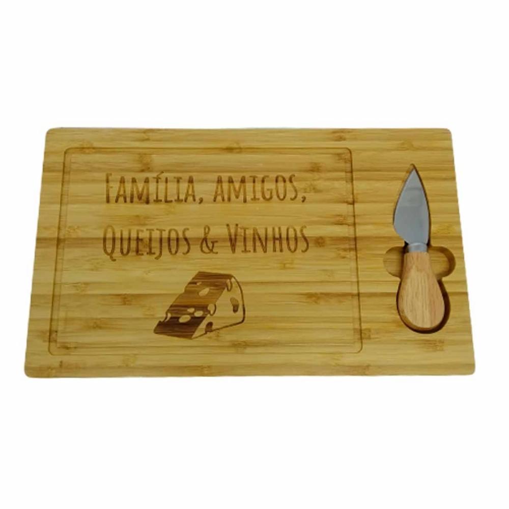 Tábua para  Queijo Ltda de Bambu