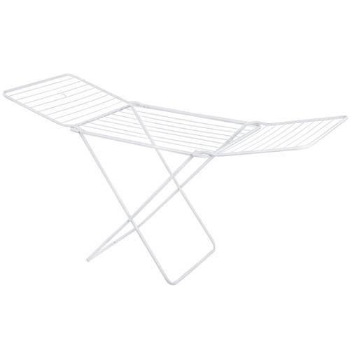 Varal de Chão Maxi Com Abas em Aço- Mor Pratico