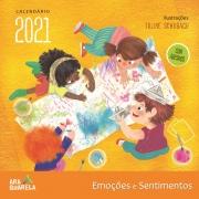 CALENDÁRIO DE PAREDE EMOÇÕES E SENTIMENTOS 2021
