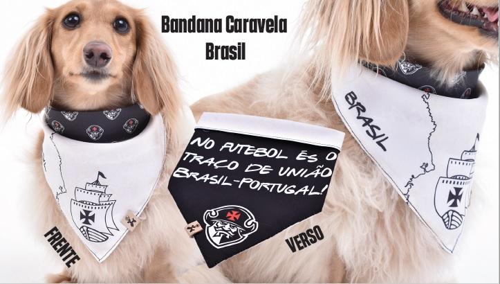 Bandana Dupla Face Caravela - Pet