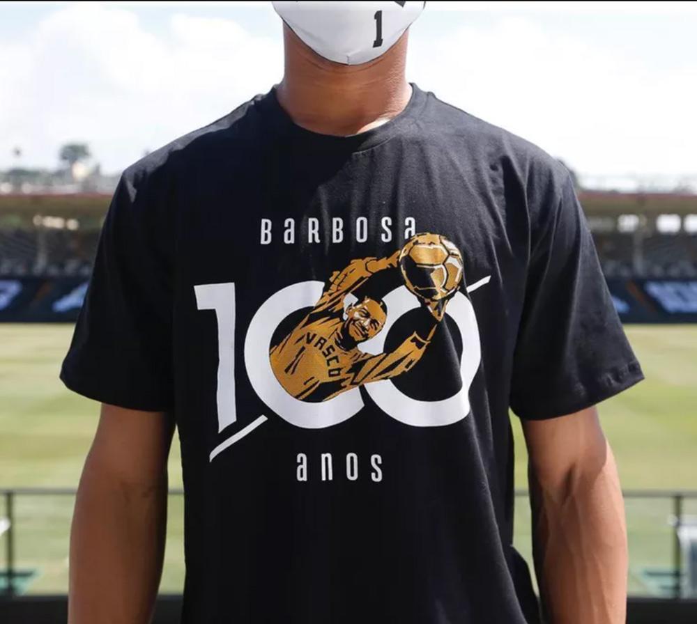Camisa Barbosa 100 Anos - Vasco