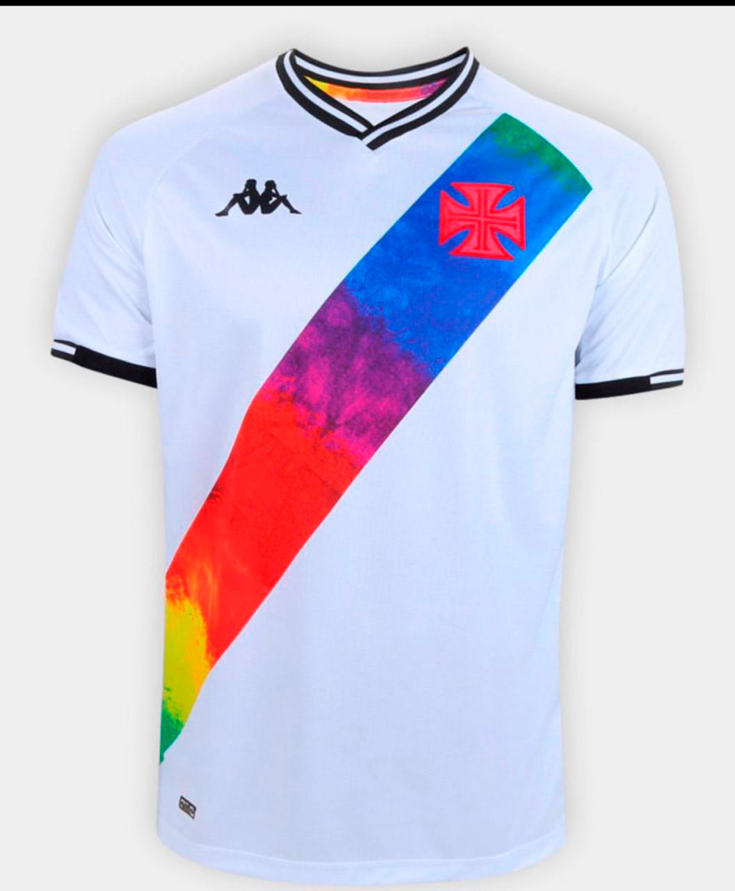 CAMISA ORGULHO LGBTQIA+ PLUS SIZE BRANCA - KAPPA