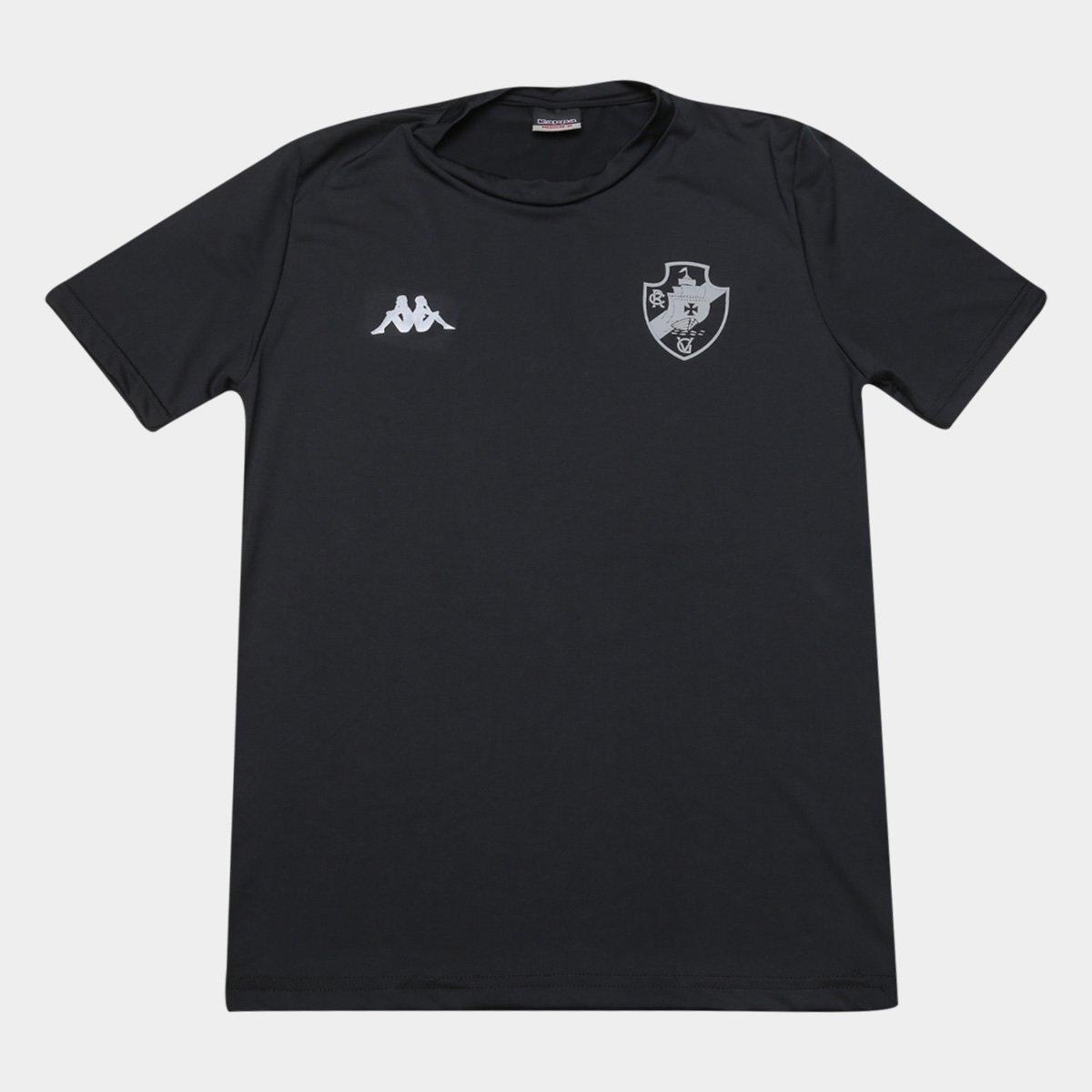 Camisa Térmica Vasco Preta - Kappa 2020