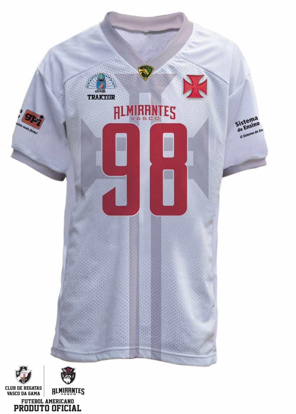 Camisa Vasco Almirantes 2019 - Branca