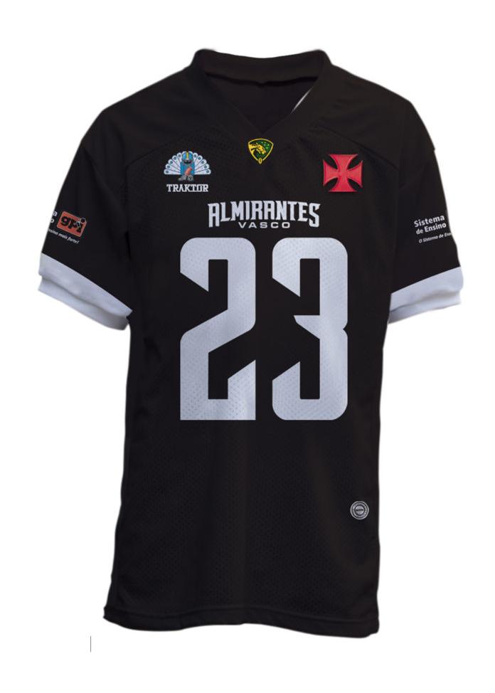 Camisa Vasco Almirantes 2019 - Preta