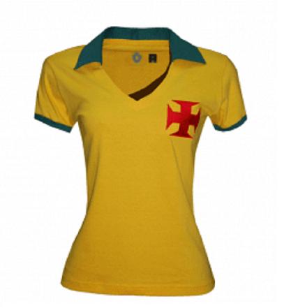 Camisa Vasco Brasil Feminina - Edição Limitada