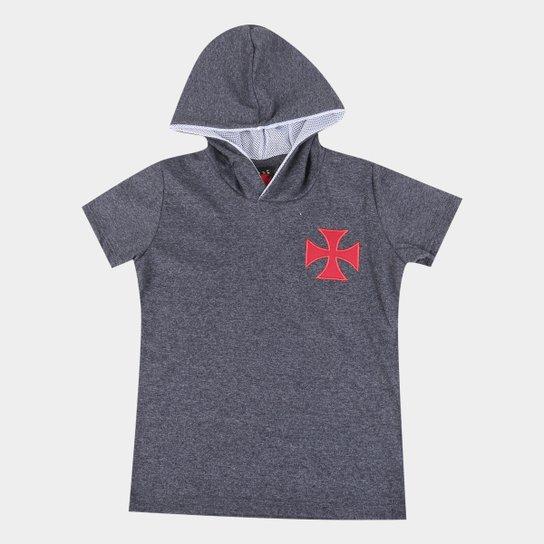 Camisa Vasco C/ Capuz Journey Infantil