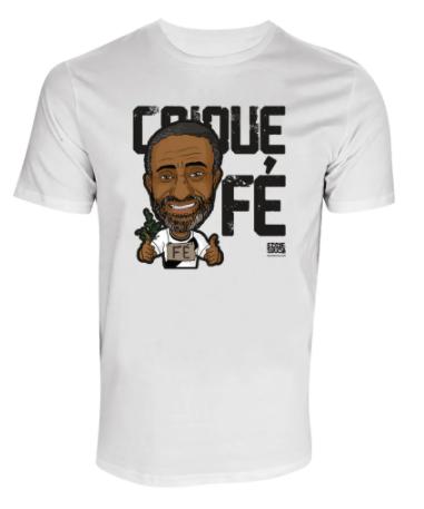 Camisa Vasco Caricatura CaiqueFé