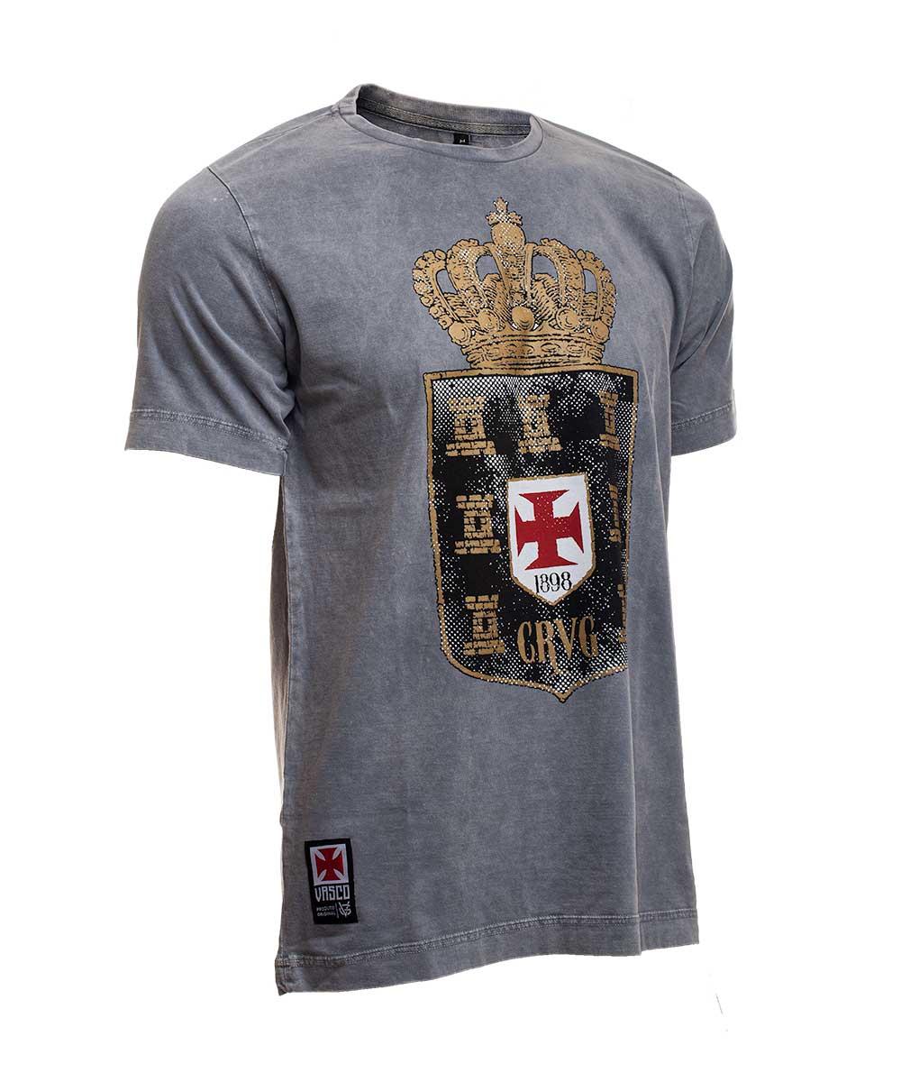 Camisa Vasco CRVG Coroa - VG