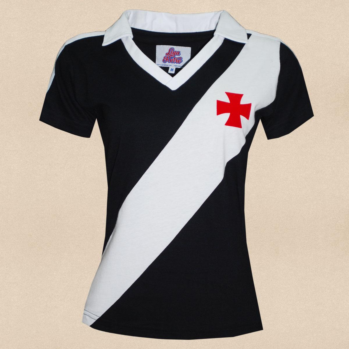 Camisa Vasco feminina 1989