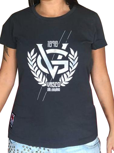 Camisa Vasco Feminina Amaciada - VG