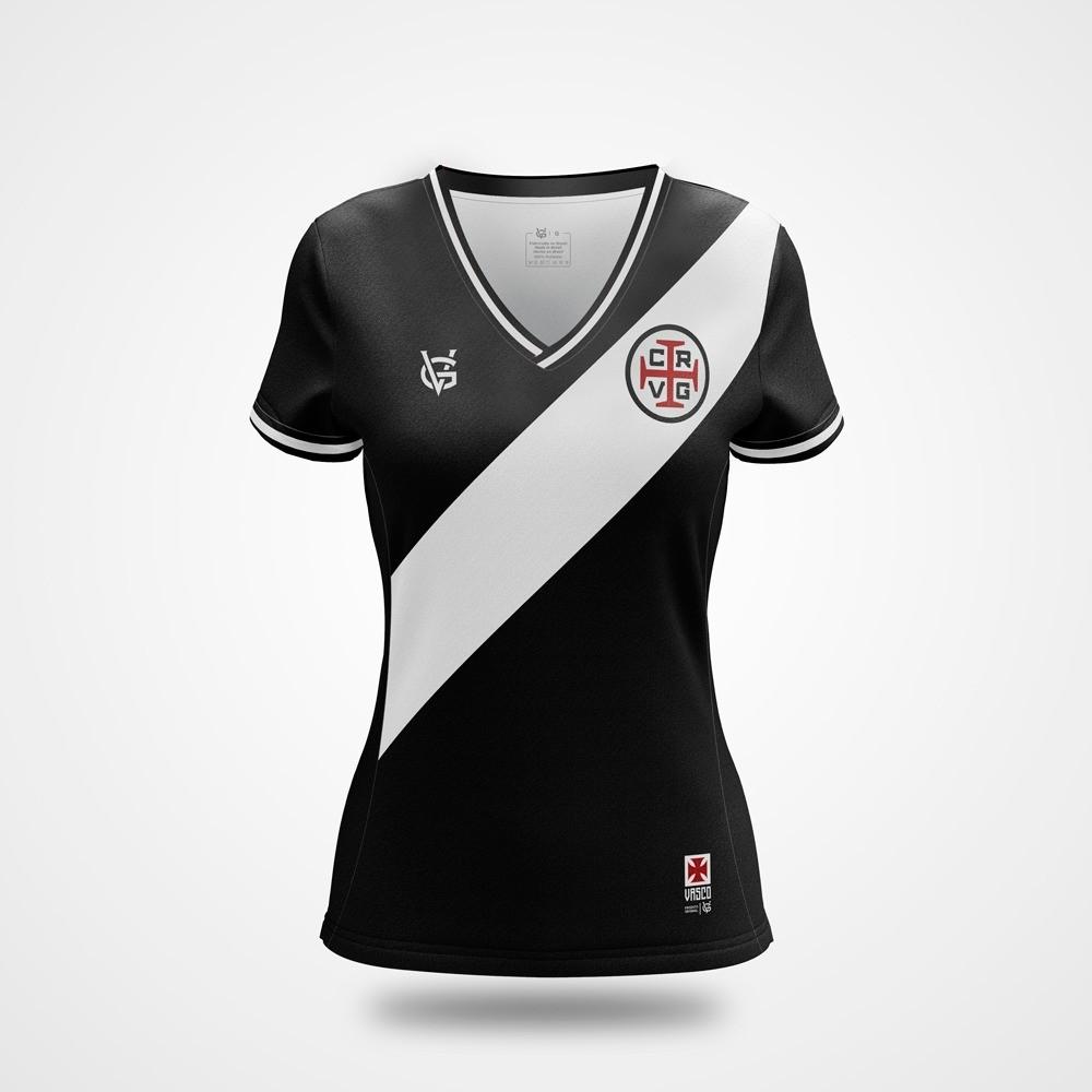 Camisa Vasco Feminina Dry Gigante - VG