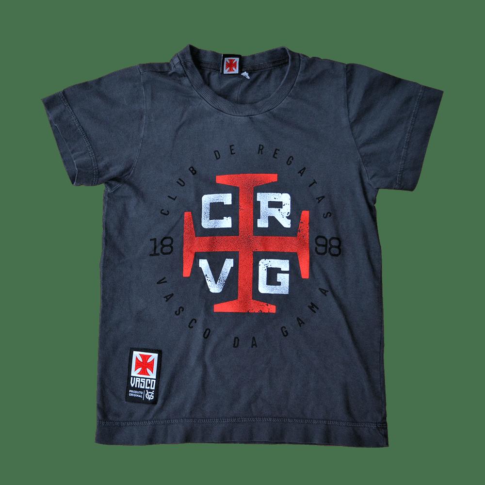 Camisa Vasco Infantil Estonada CRVG - VG