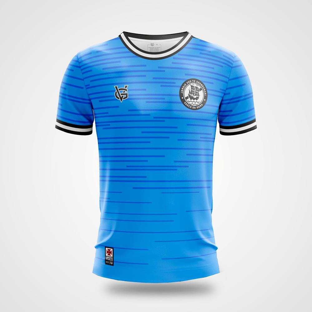 Camisa Vasco Infantil Novembro Azul Grafismo