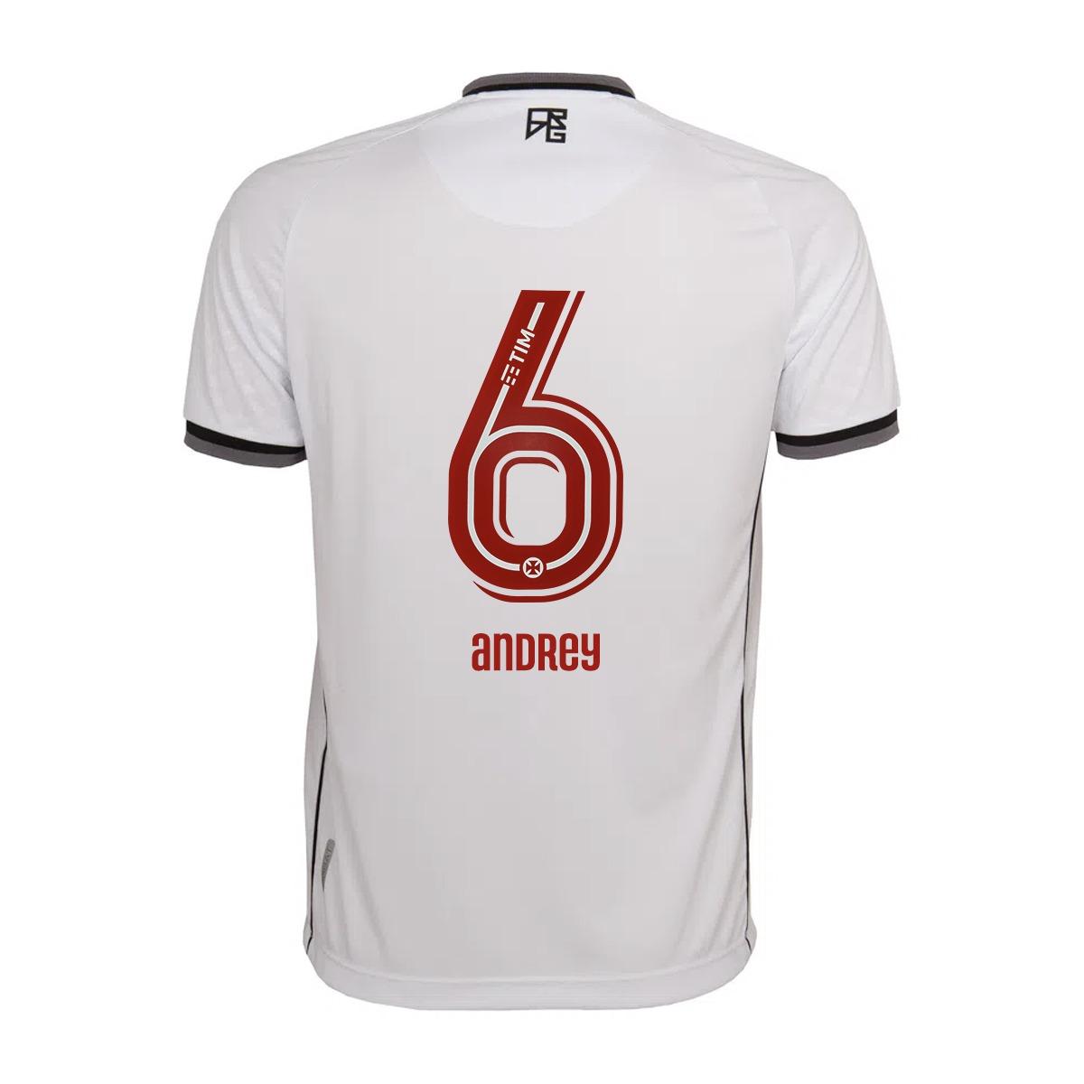 Camisa Vasco Jogo 2 Kappa 2021 - Andrey