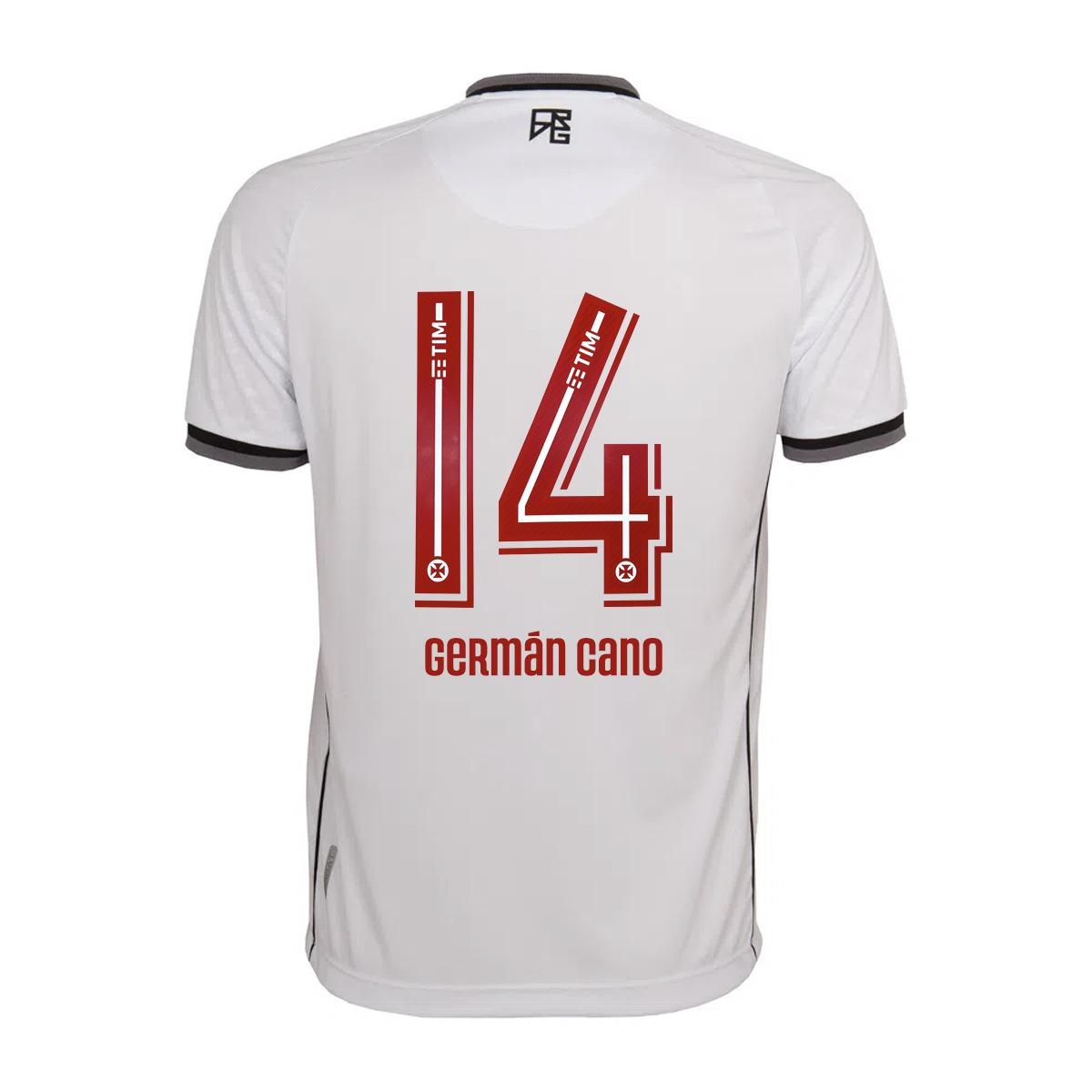 Camisa Vasco Jogo 2 Kappa 2021 - Germán Cano