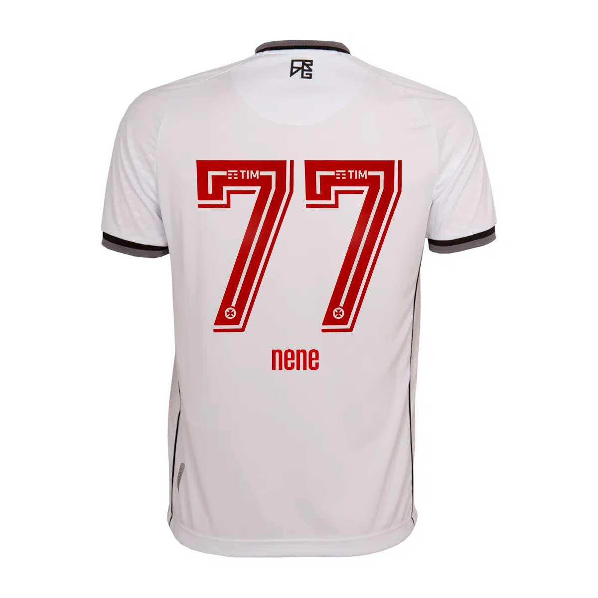 Camisa Vasco Jogo 2 Kappa 2021 - NENÊ