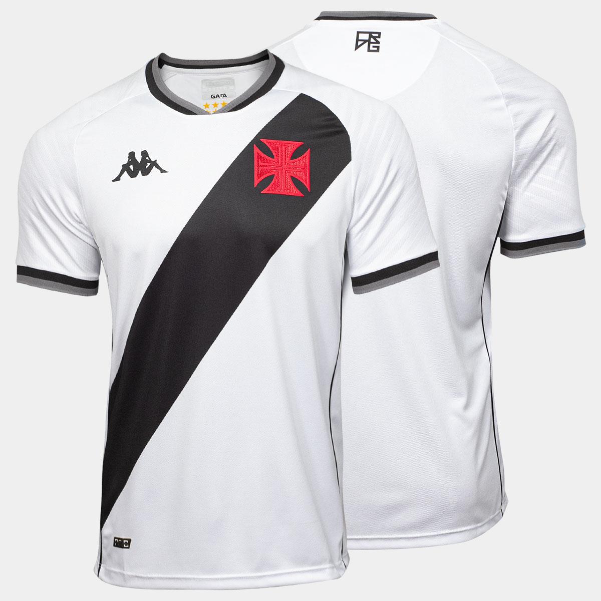 Camisa Vasco Jogo 2 Tamanho Especial - Kappa 2021