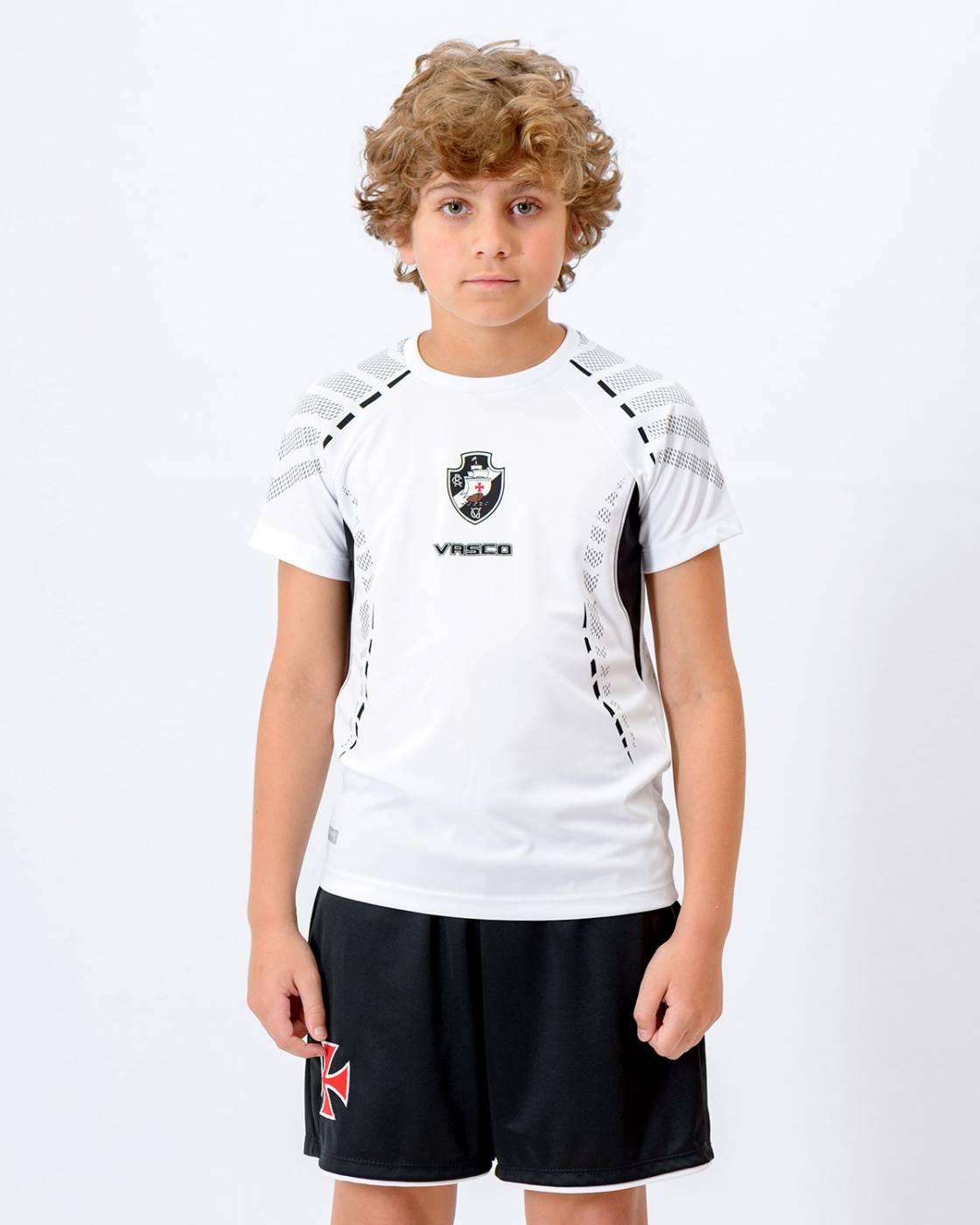 Camisa Vasco Orion Raglan Infantil