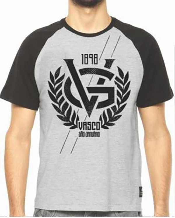 Camisa Vasco Raglan - VG
