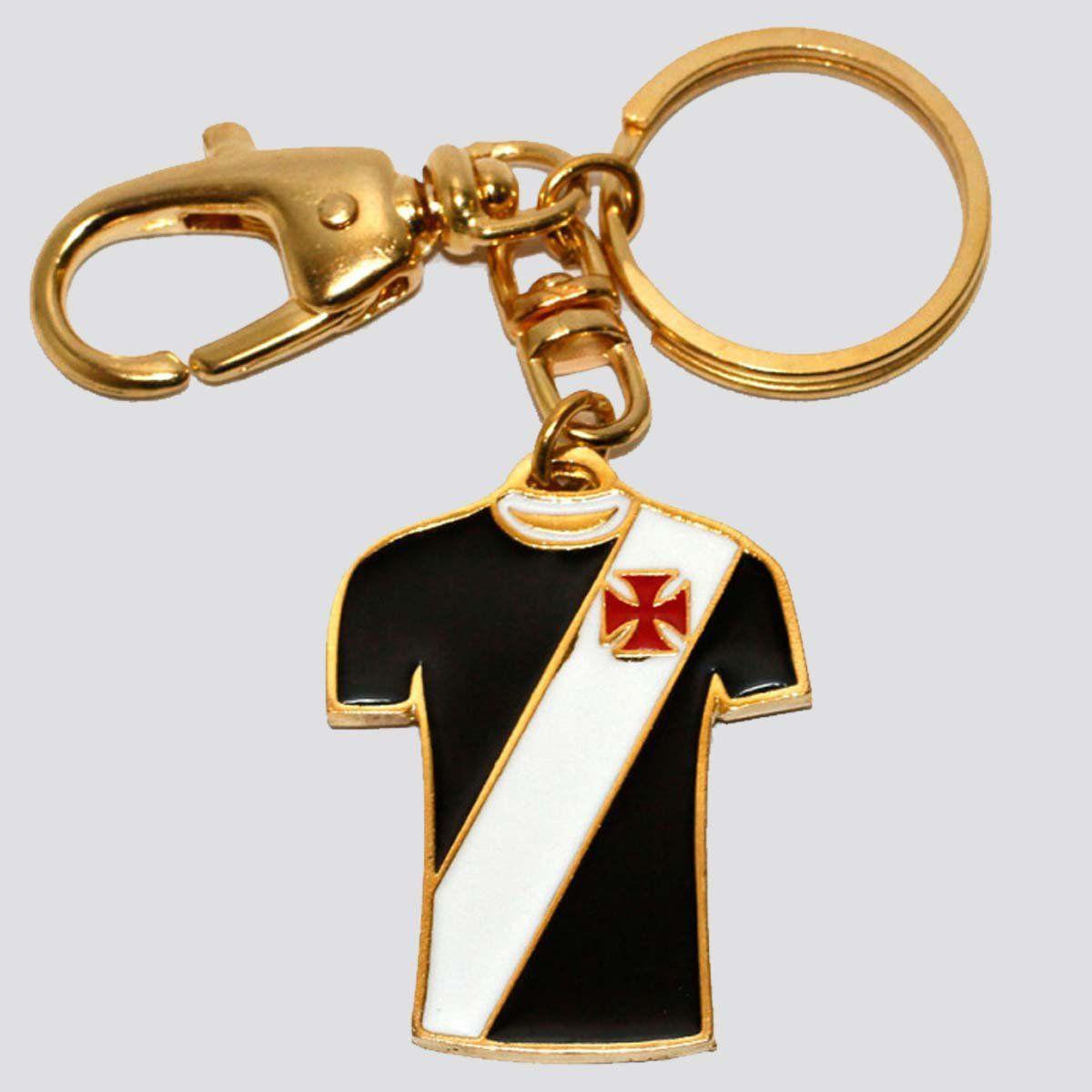 Chaveiro Vasco Camisa Ouro