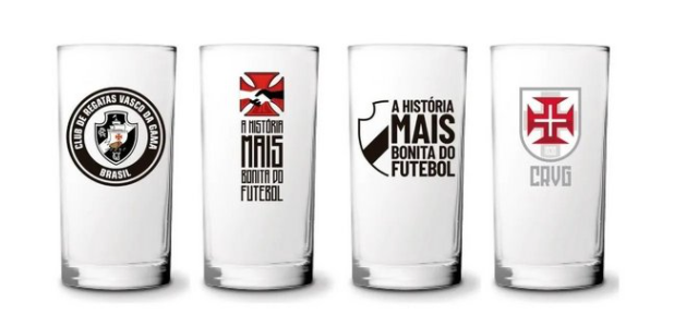 Vasco Copo Long Drink com 4 na Luva