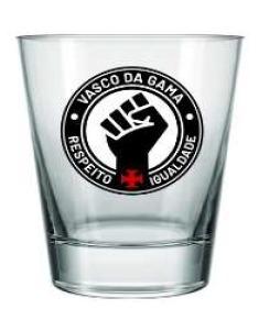 Copo Vasco Old Respeito E Igualdade 220 ML