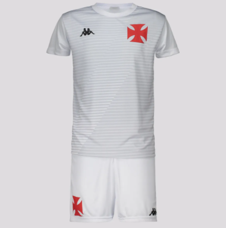 Kit Infantil Vasco Supporter Branco - Kappa 20