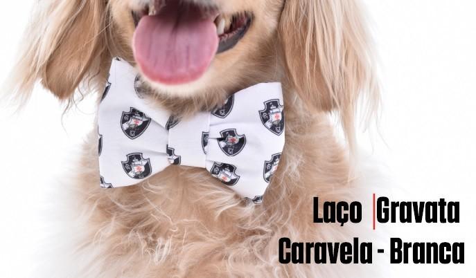 Laço/Gravata Vasco Caravela - Branco