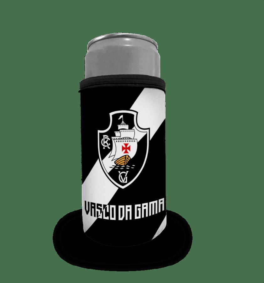 Porta Lata Vasco Palito - Escudo Faixa
