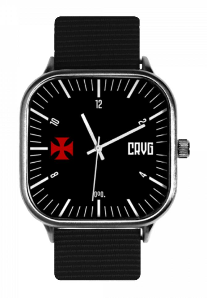 Relógio Vasco Classic Black S - Power