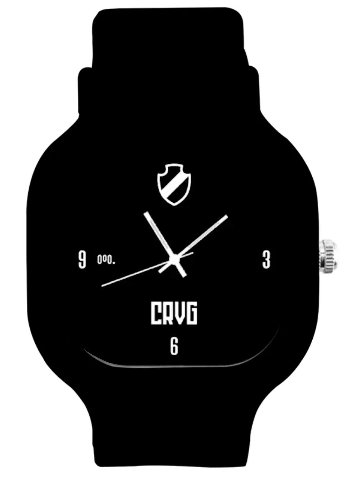 Relógio Vasco Concentração +  Pulseira Silicone Power