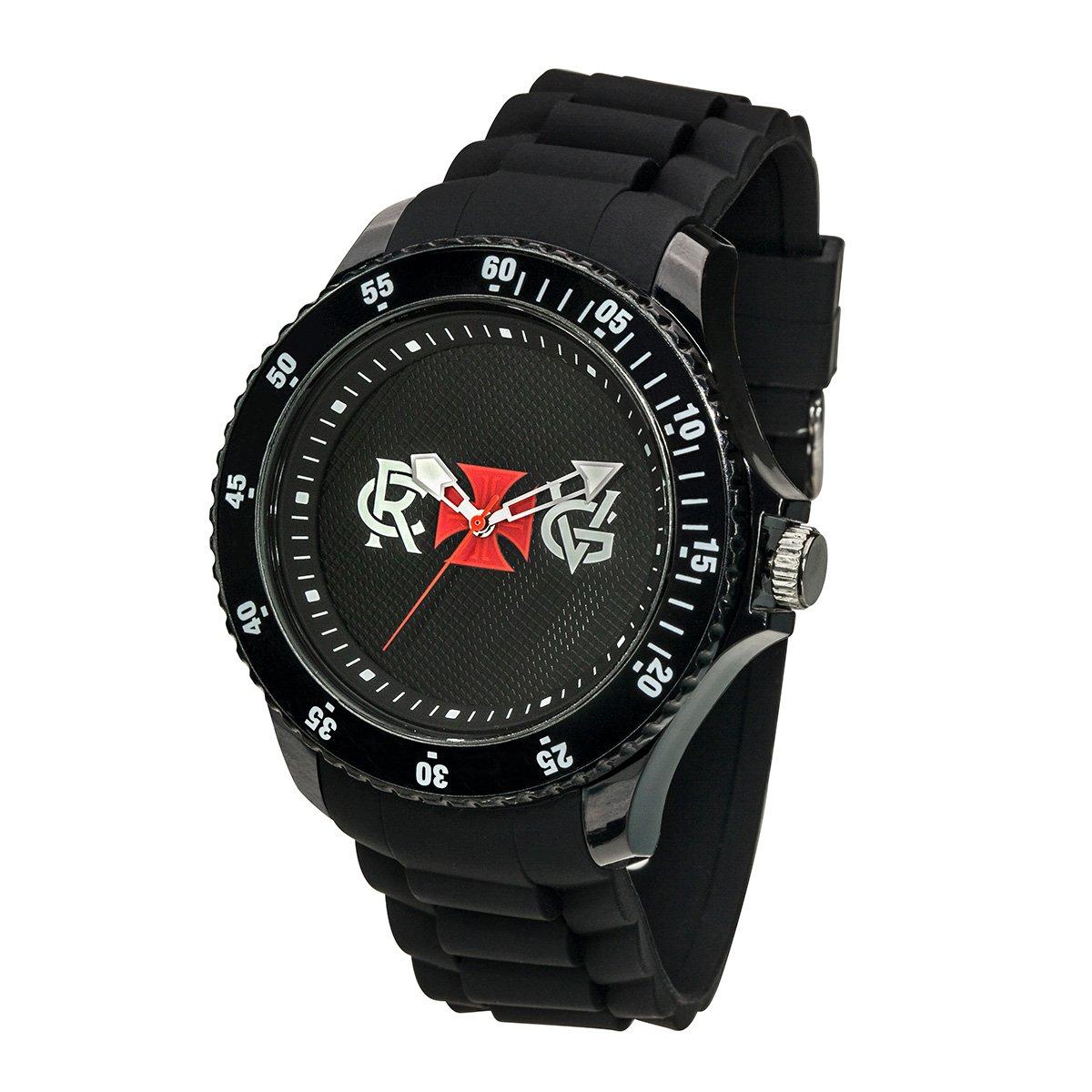 Relógio Vasco CRVG - Preto