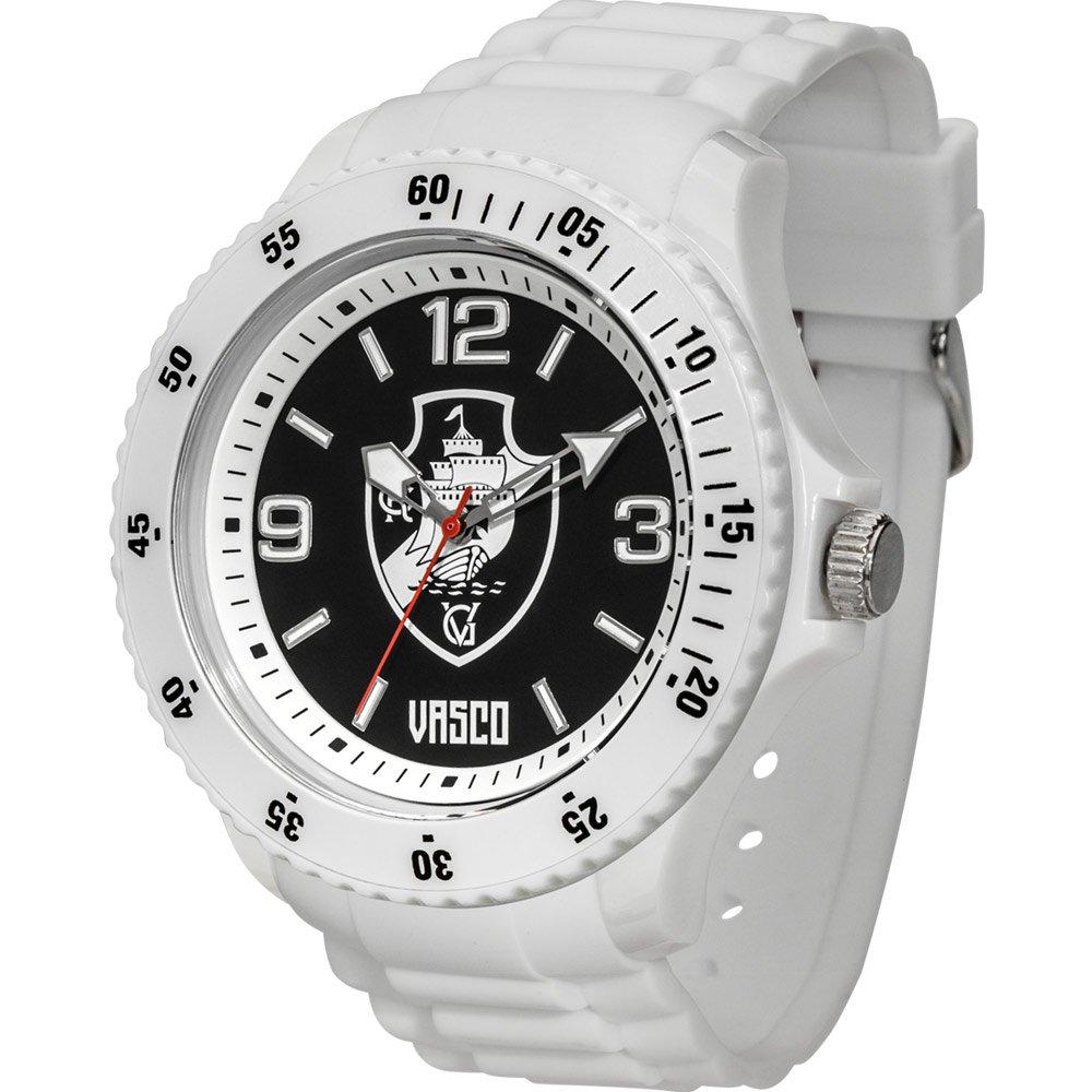 Relógio Vasco Escudo - Branco.