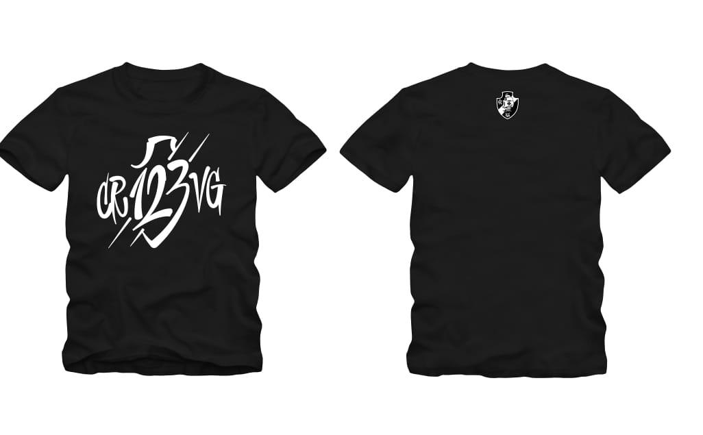 Vasco camisa 123 Anos