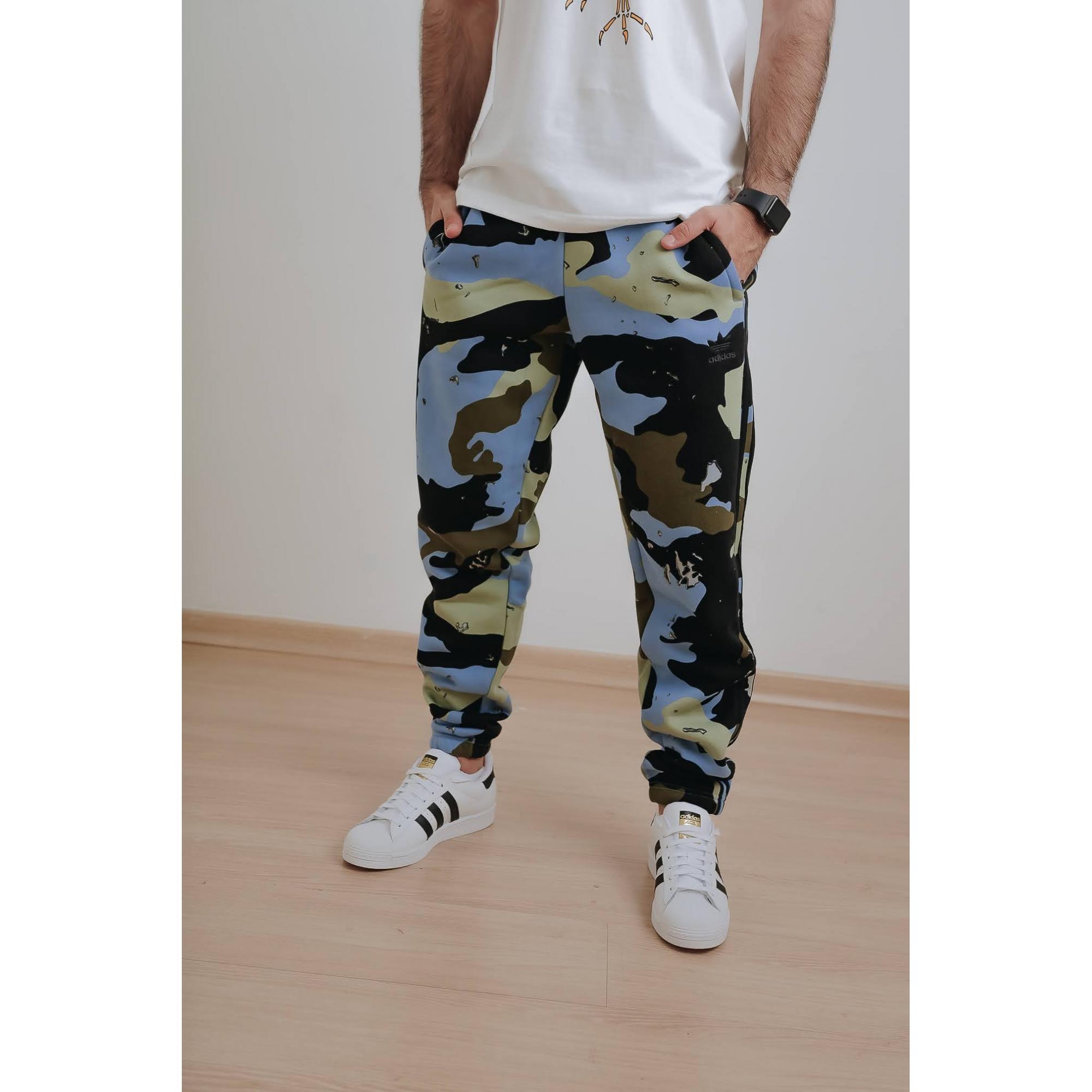 Calca Adidas Originals  Camo Homem