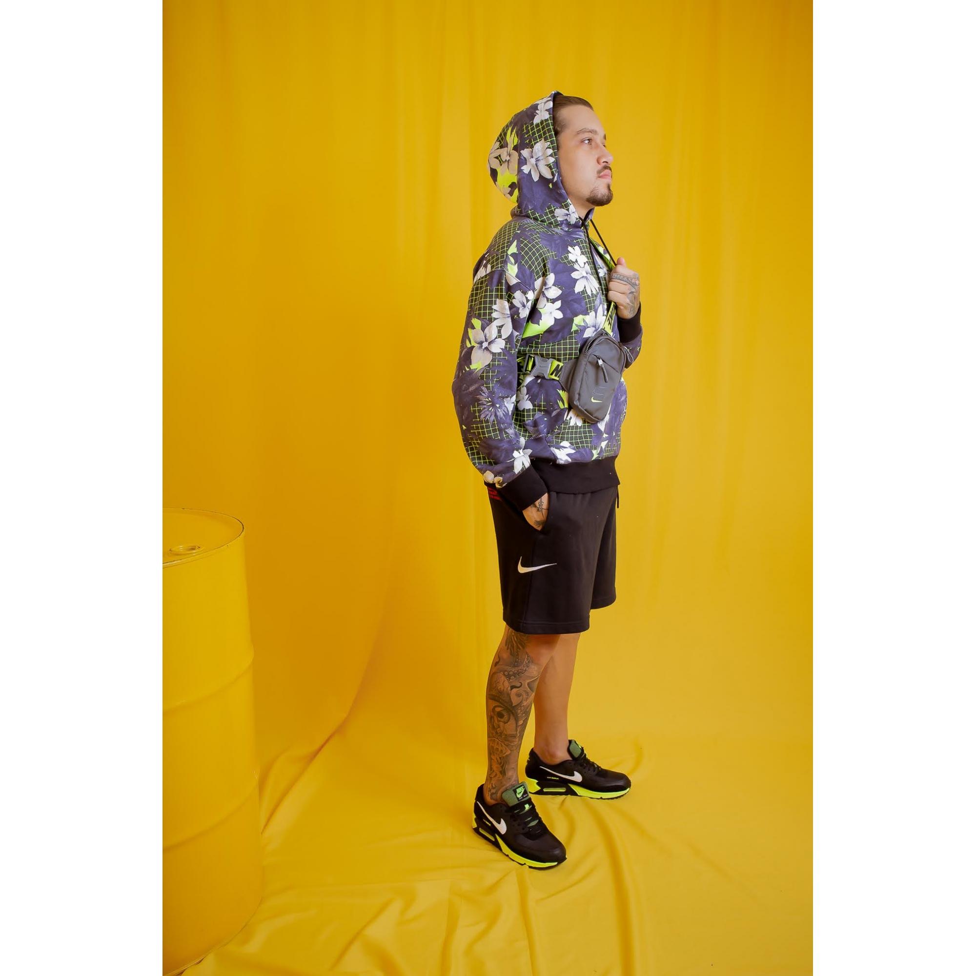 Moleton Nike Paradise Hoodie Estampado Homem