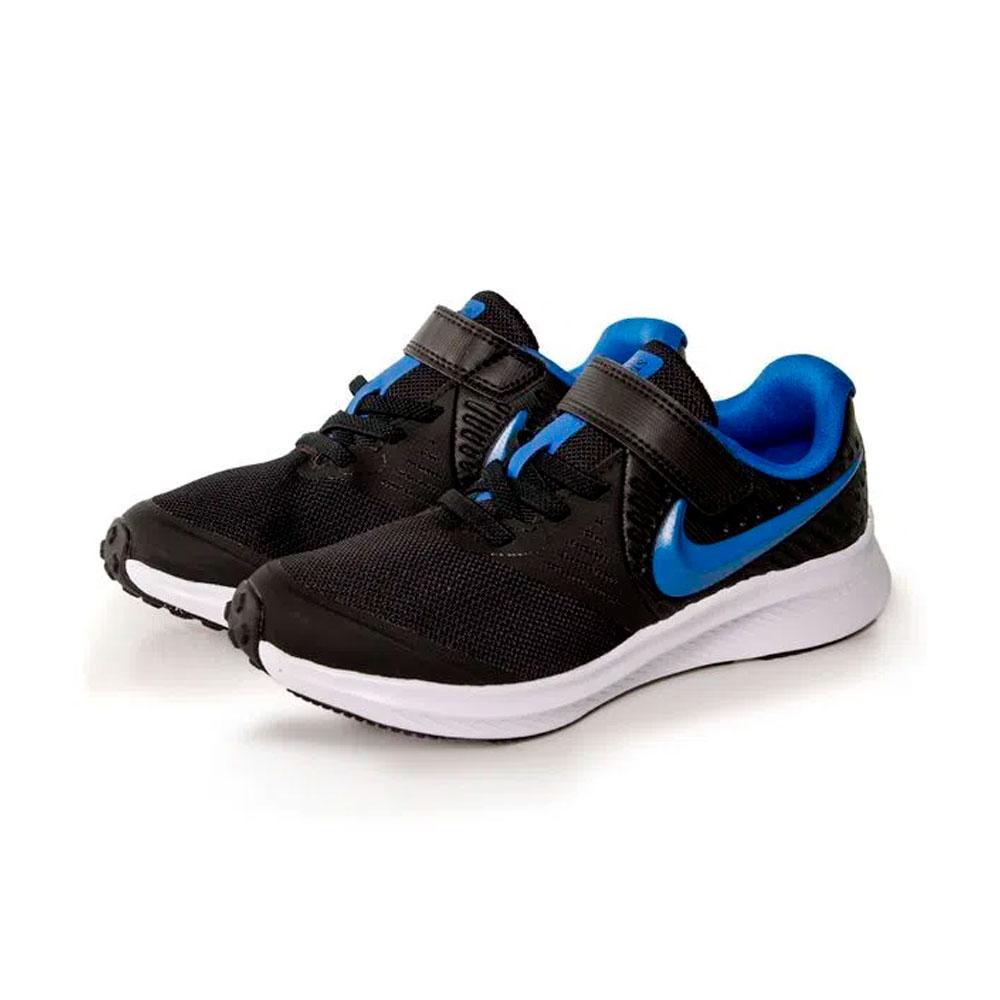 Tenis Nike Star Runner 2 Preto+marinho Infantil