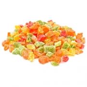Frutas cristalizadas bandeja (aprox. 200 gramas)