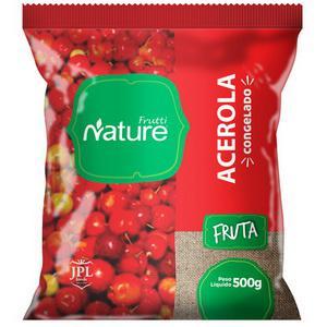 Acerola congelada pacote 500 gramas