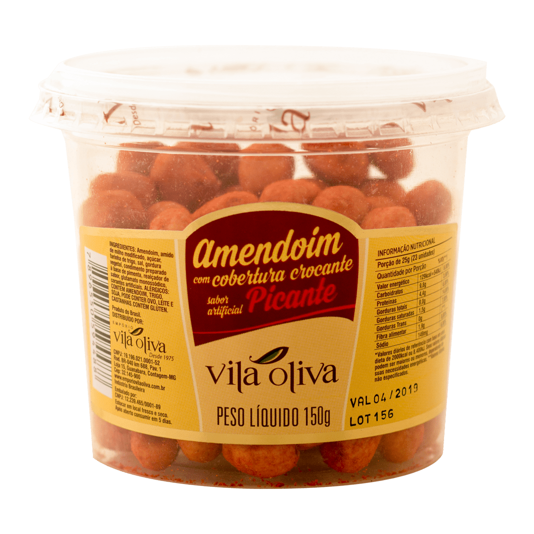 Amendoim picante 150 gramas