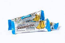 Bananinha cremosa sem acuçar 30 gramas