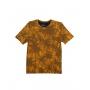 Camiseta Gola O. Estampada Amarelo Sallo