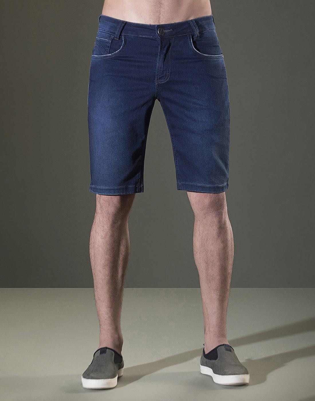 Bermuda Jeans Skinny Sallo