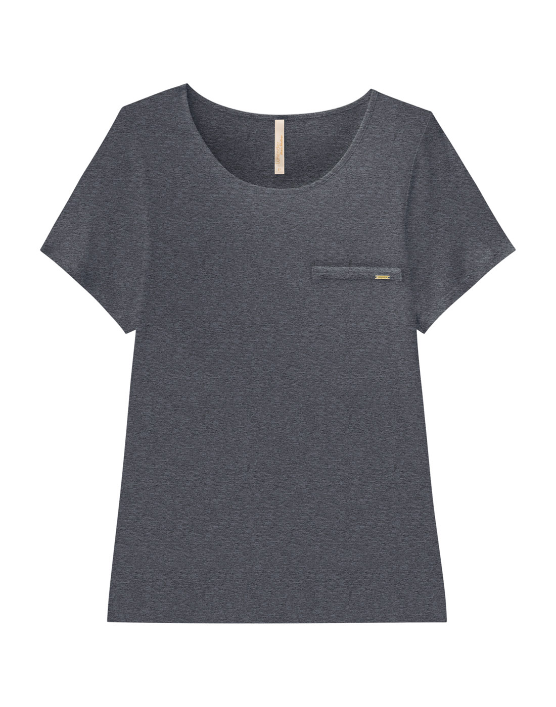 Blusa Básica Plus Size Malha Viscose Lunender Mais Mulher