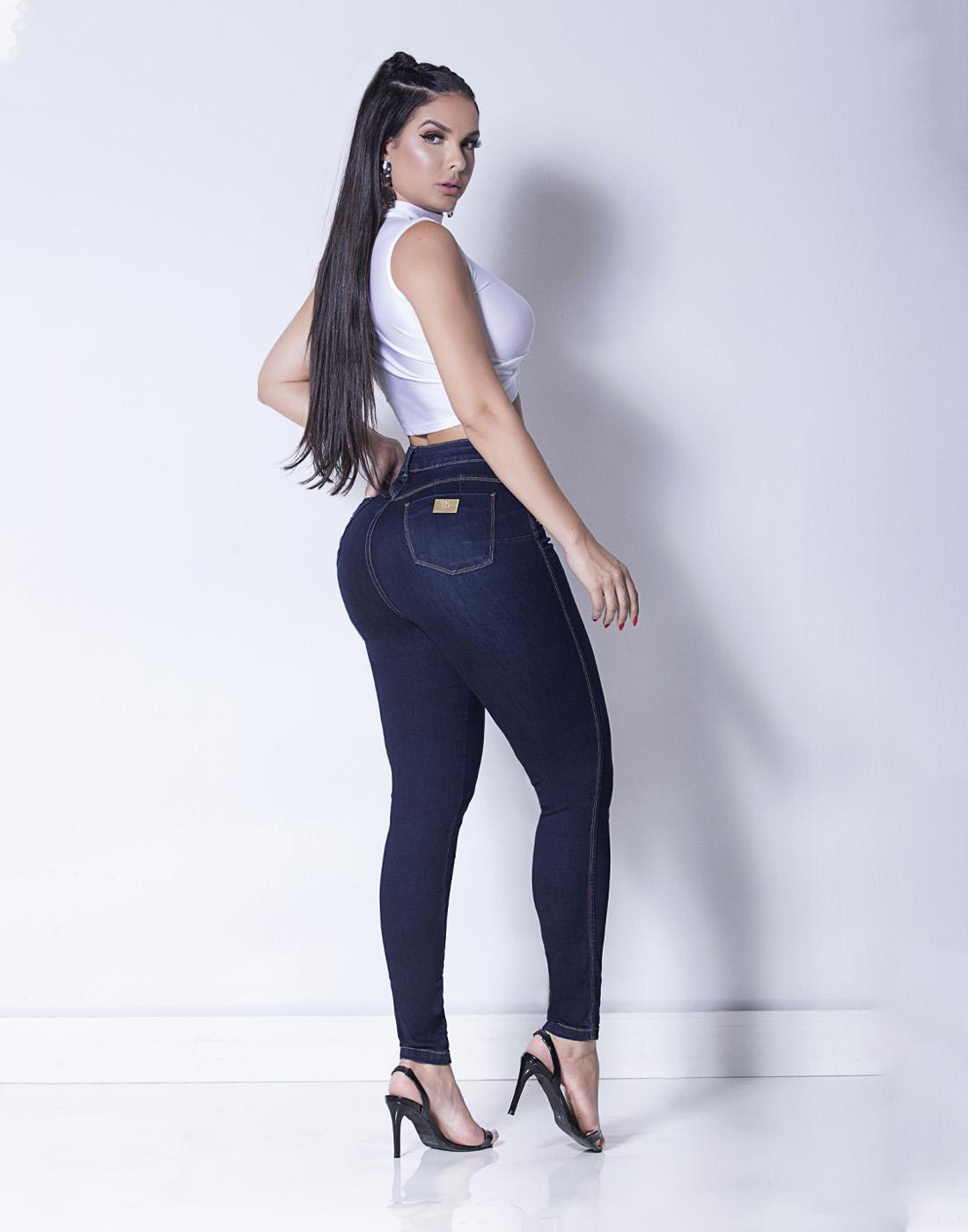 Calça Cigarrete New Basic Cint. Alta - Set Jeans